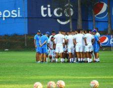 La Selección Nacional se prepara para recibir a Panama, en el primer juego del 2020. (Foto Prensa Libre: Luis López)