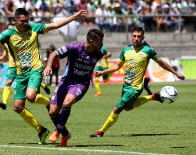 Los equipos esperan reanudar el torneo en mayo. (Foto Prensa Libre: Carlos Vicente)