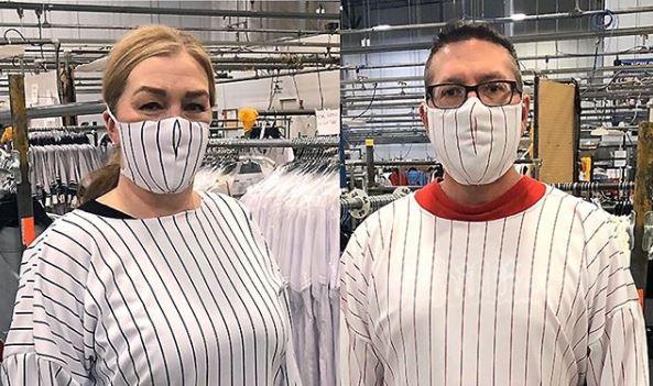 Coronavirus: Suspenden producción de uniformes de Grandes Ligas para fabricar material médico