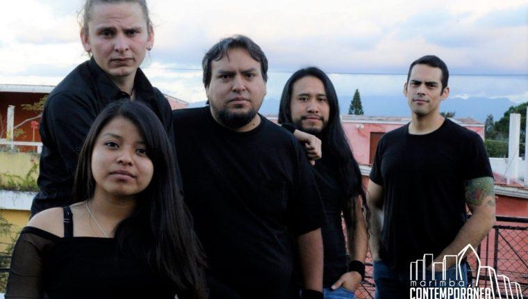 El grupo Marimba Contemporánea de Guatemala se creó en el 2015. (Foto Prensa Libre: cortesía Marimba Contemporánea de Guatemala).