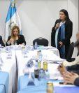 Blanca Olivia Alfaro, candidata a magistrada al TSE presenta su plan de trabajo a la comisi—n de asuntos Electorales del Congreso de la Repœblica (Foto Prensa Libre:  Erick Avila)