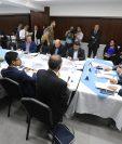 Comisión de Asuntos Electorales cita a candidatos a magistrados del Tribunal Supremo Electoral. (Foto Prensa Libre: Érick Ávila).