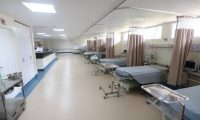 Autoridades del Ministerio de Salud habilitaron este s‡bado 7 de marzo de 2020 un ‡rea de aislamiento en el Hospital de Villa Nueva para tratar a posibles pacientes con coronavirus.