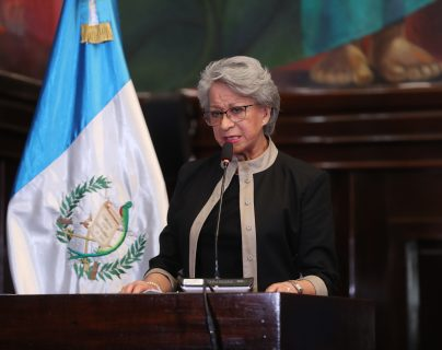 María Eugenia Morales, magistrada de la CSJ. (Foto Prensa Libre: Hemeroteca PL)