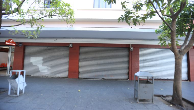 Las empresas afectadas por el cierre de actividades comerciales por el coronavirus han solicitado créditos al sistema financiero. (Foto Prensa Libre: Hemeroteca)