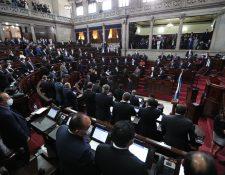 Alianza oficialista no cuenta con los votos par desaforar a los magistrados de la Corte de Constitucionalidad. (Foto Prensa Libre: Hemeroteca PL)