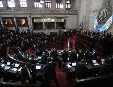 Periodistas tuvieron restricción de ingreso al palco de prensa para dar cobertura a las sesiones legislativas. (Foto Prensa Libre: hemeroteca PL)