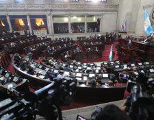 Diputados aprobaron un paquete para la contingencia del covid-19. (Foto Prensa Libre: Hemeroteca PL)