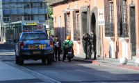 Segundo d'a de toque de queda decretado por Alejandro Giammattei, presidente con vigencia de ocho d'as y a partir del 22 de marzo del 2020, como parte de las medidas para prevenir contagios de coronavirus fotograf'as en las calles de la zona 1.    Fotograf'a. Erick Avila:  23032020