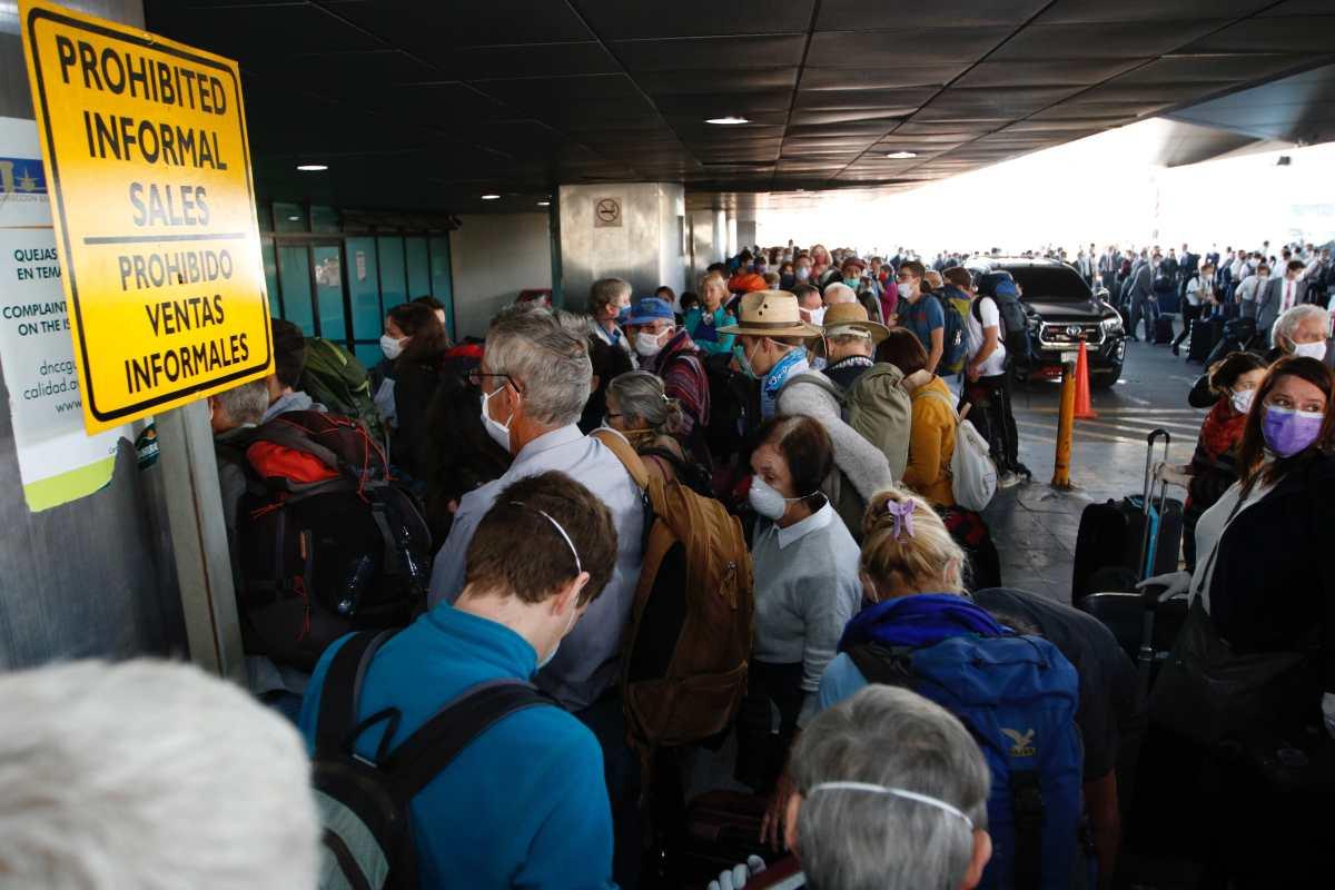 Fotogalería: turistas alemanes y misioneros a un paso de sus hogares