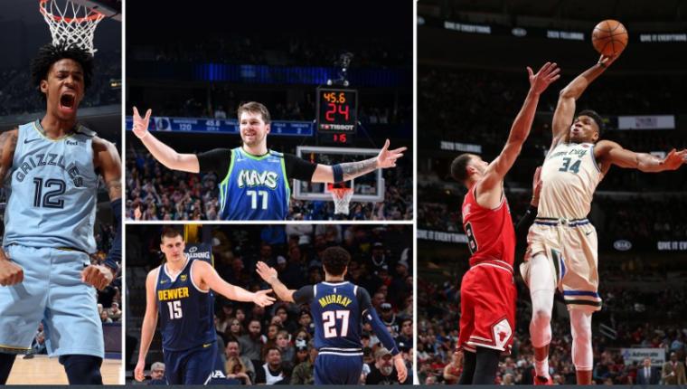 La NBA promueve la diversión durante el confinamiento por el covid-19. (Foto Prensa Libre: NBA)