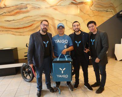 Yaigo ya está disponible para la entrega de mensajería y otros tipos de productos. Foto Prensa Libre: Norvin Mendoza