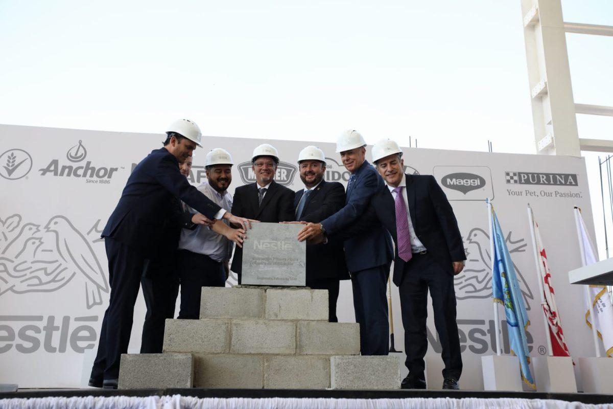 Nestlé invierte Q85 millones en gran centro logístico en Villa Nueva