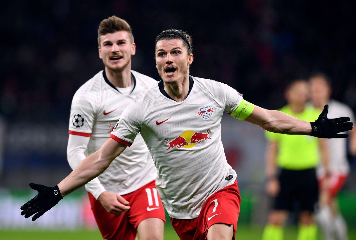 Leipzig gana 3-0 al Tottenham y jugará por primera vez cuartos de 'Champions'
