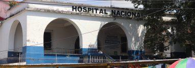 El Hospital Nacional en Mazatenango habilitó un área para detectar casos sospechosos de covid-19. (Foto Prensa Libre: Marvin Túnchez)