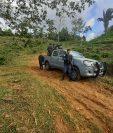Autoridades han reforzado la seguridad en pasos ciegos detectados en el limite entre Guatemala y Honduras, para evitar el cruce de personas por estos lugares. (Foto Prensa Libre: Dony Stewart)