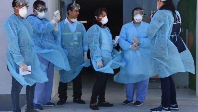 El gobierno implementa medidas para enfrentar el coronavirus. (Foto Prensa Libre: Ministerio de Salud).