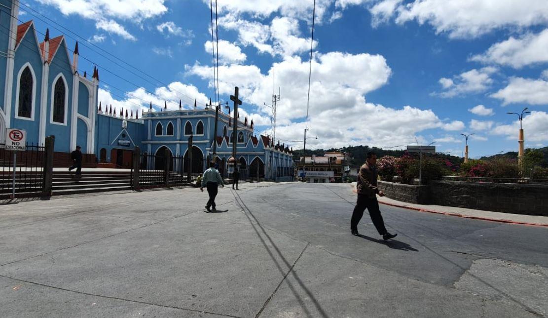 Coronavirus: San Pedro Sacatepéquez luce desolado por restricciones por emergencia