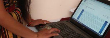 Las plataformas digitales y aplicaciones ayudarán a los estudiantes a continuar con su aprendizaje. (Foto Prensa Libre: María Longo)