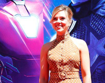 """La actriz estadounidense Scarlett Johansson, es protagonista de la película """"Black Widow"""" de Marvel Studios y Disney. (Foto Prensa Libre: EFE)"""