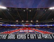 El Paris Saint Germain dejará de trabajar hasta nuevo aviso. (Foto Prensa Libre: AFP)