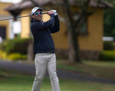 José Toledo, golfista guatemalteco que compite en el PGA Tour. (Foto Prensa Libre: Norvin Mendoza)