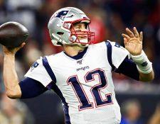 Tom Brady le pone fin a su historia con los Patriotas de Nueva Inglaterra. (Foto Prensa Libre: EFE)