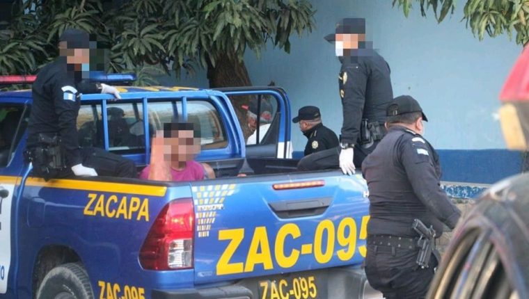 Las capturas se llevaron a cabo durante operativos de la PNC en todo el país. (Foto Prensa Libre: PNC)