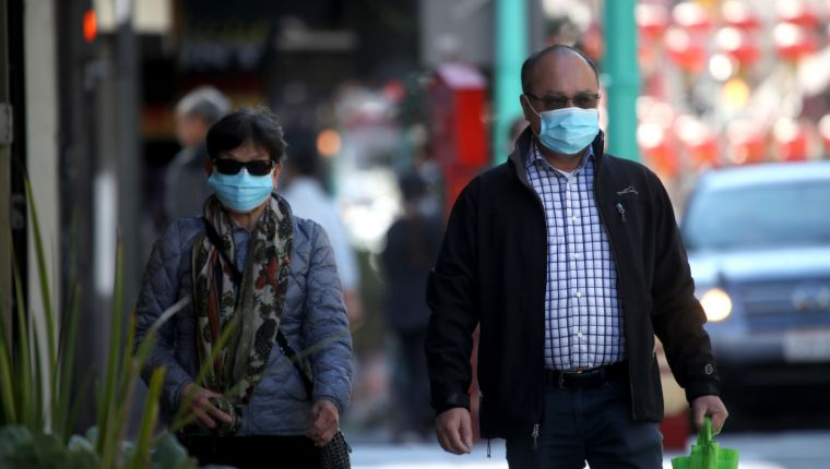 Ciudadanos toman sus precauciones por la aceleración de casos de coronavirus en Estados Unidos. (Foto Prensa Libre: Hemeroteca PL).