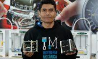 Ing. V'ctor Ayerdi, director de Ingenier'a Mec‡nica de la UVG  y codirector del satŽlite guatemalteco CubeSat.     Fotograf'a  Esbin Garcia  20-12-2019