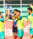 El equipo pecho amarillo (Foto Prensa Libre: Luis López)