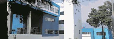El hospital de Villa Nueva fue habilitado para atender posibles casos de de coronavirus. (Foto Prensa Libre: Hemeroteca PL)