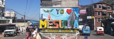 Hasta el momento, la frontera de La Mesilla no tienen ningún control de prevención del coronavirus. (Foto Prensa Libre: Mike Castillo)