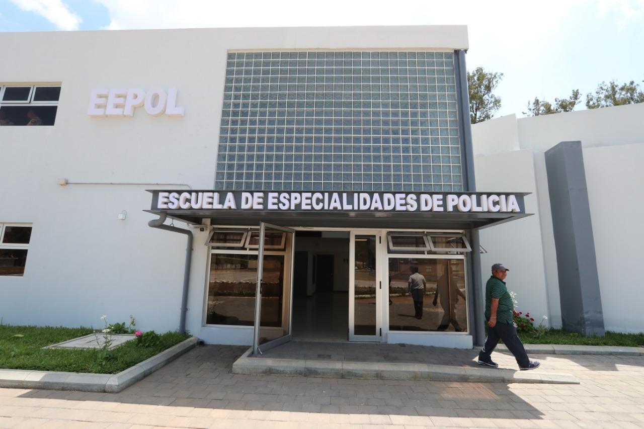 El inmueble está en una finca de zona 6 de la PNC que, acondiciona las sedes de varias especialidades policiales. Foto Prensa Libre: Óscar Rivas
