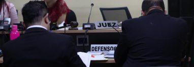 Las audiencias judiciales previstas en diferentes juzgados y tribunales quedaron suspendidos. (Foto Prensa Libre: Hemeroteca PL)