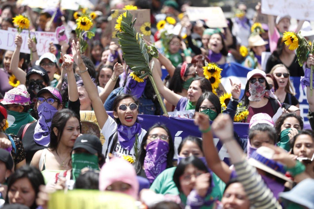 #8M: Así fue la marcha por el Día Internacional de la Mujer en Guatemala
