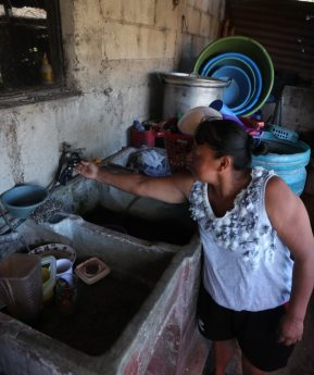 La falta de agua compromete protocolos mínimos de higiene para prevenir el covid-19