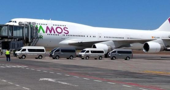 Coronavirus: 41 guatemaltecos que estaban en España arriban al país en vuelo de rescate