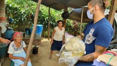 Coronavirus: Salvador Estrada entrega ayuda a los más necesitados en San Pablo, San Marcos