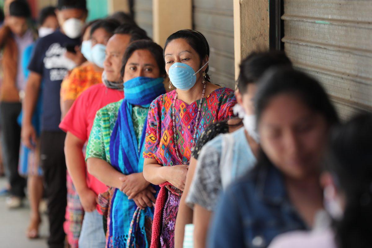 Temor y desolación en San Pedro Sacatepéquez