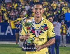 Antonio de Jesús López jugará con la Selección de Guatemala. (Foto Prensa Libre: Instagram)