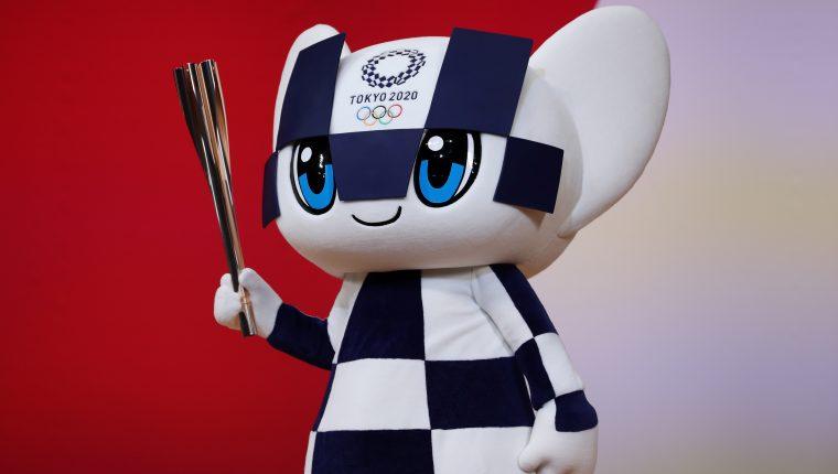 Miraitowa es la mascota de los Juegos Olímpicos de Tokio 2020. (Foto Prensa Libre: AFP)