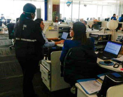 El Mintrab supervisó diversas empresas el 18 de marzo. (Foto: Prensa Libre: Mintrab).