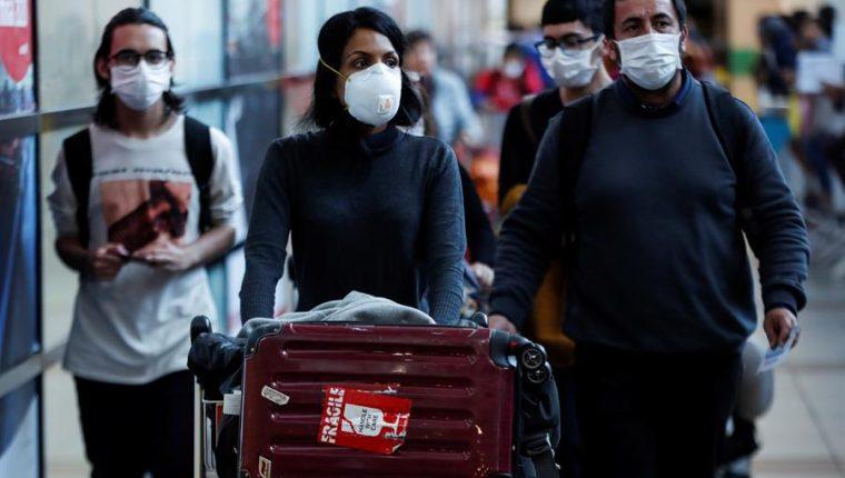 Chile decreta el estado de excepción para afrontar el coronavirus. (Foto Prensa Libre: EFE)