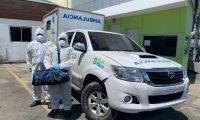 Equipos de prevención son preparados en varios lugares para atender los posibles casos. (Foto Prensa Libre: Muni de Mixco)