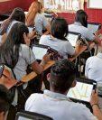 El Congreso legisló para que los padres tengan facilidades para pagar las colegiaturas, como consecuencia de los efectos del nuevo coronavirus. (Foto Prensa Libre: Hemeroteca PL)