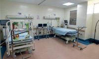Autoridades del Ministerio de Salud habilitaron este sábado 7 de marzo de 2020 un área de aislamiento en el Hospital de Villa Nueva para tratar a posibles pacientes con coronavirus.
