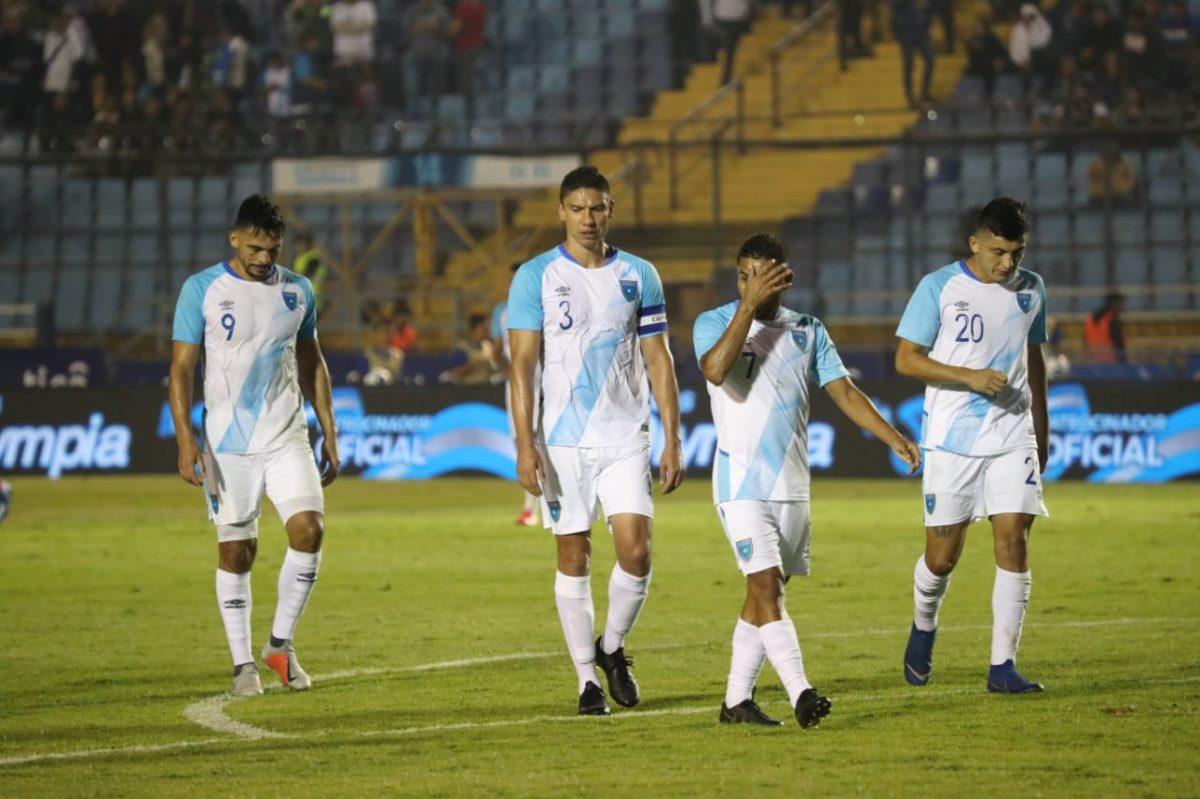 Guatemala, una derrota y muchas dudas frente a Panamá