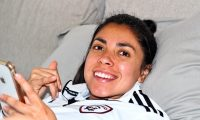 Ana Lucía Martínez, jugadora el Madrid CFF. (Foto Prensa Libre: Facebook)
