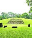 Vista general del sitio sagrado Tak'alik Ab'aj, ubicado en el Asintal Retalhuleu.  (Foto Prensa Libre: Lucía Mayorga)